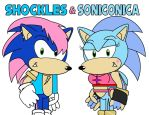 Shockles and Soniconica by AshleyWolf259