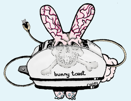 Bunny Toast by BelligerentButterfly