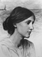 Virginia Woolf by sixzero1985
