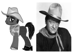john wayne ponified by kuren247