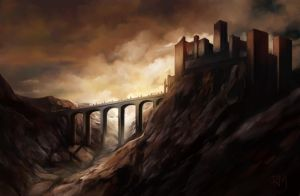 The Black Fortress by rodmendez