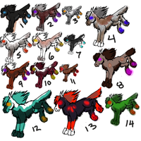 2 point holf adopts by lipazzaner