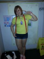 Me as Misty for LAC6 by woostersauce