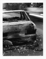 Burnt Out Car 1 by TonallyTormented