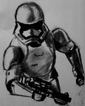 First Order Stormtrooper  by Sean-7391