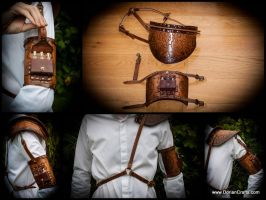 Steampunk Shoulder Armor by DorianPipes