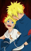 Minato and naruto - Father and son by pollo0389