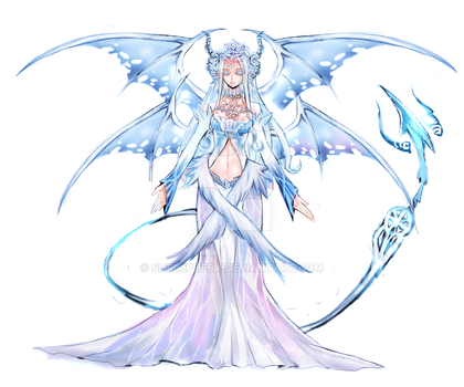 White Succubus OPEN for Auction (Closed) by shrimpHEBY