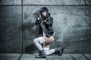 Ghost in the Shell AX12 by MsCharCosplay