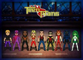 Teen Titans by GHV2