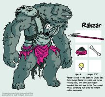 Secrets Of The Ooze: Rahzar by mooncalfe