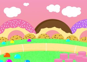 OMG Candy Land by CazGirl