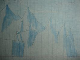 Ice Mountains by DeviantArtistMax