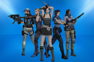 The Many Looks of Jill Valentine by JillValentine36C