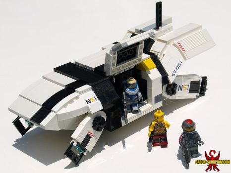 LEGO Mass Effect 2 Kodiak Shuttle by Saber-Scorpion
