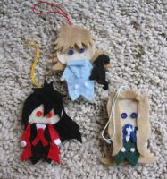 Alu Integra and Police Girl Crafts by sapphii