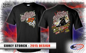 Corey Storck 2015 Racing Apparel Design by pskeens