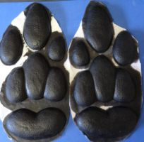 Kangaroo Feet Pads by DreamVisionCreations