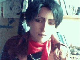 HI THERE 0- Rivaille cosplay GIF by Jiosan
