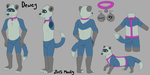 CM - Dewey's Reference Sheet by Moufy
