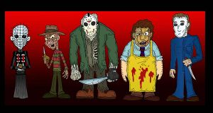 Hell Hell the Gang's All Here by Lordwormm