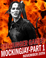 Mockingjay Poster by Party9999999