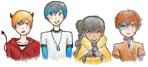 HS: Team AASK by Perry-noid