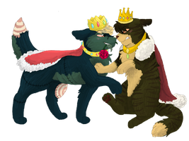 King Oxy and Queen Paint by CascadingSerenity