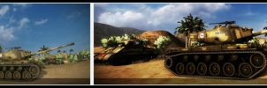 World of Tanks: Before and After Effects by purpledragon104