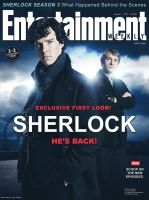 Sherlock Entertainment Weekly Magazine Cover by AncoraDesign
