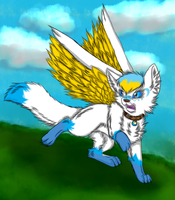SilverMoon COM by ChrystalStarWolf