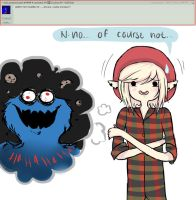 Q8- Cookie Monster by AskPhan