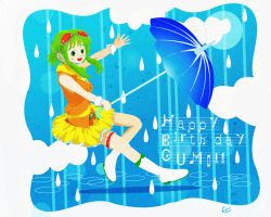 A rainy season is also pleasant! by 400Four