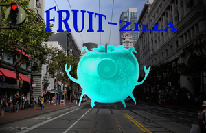 Fruit-Zilla by thepakmonster