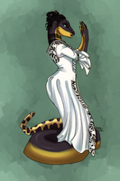 Snake in a Dress by WerewolfPsycho