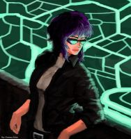 ghost in the shell by molcray