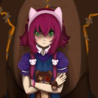 Have you seen my bear? coloured by Rubi-one-chan