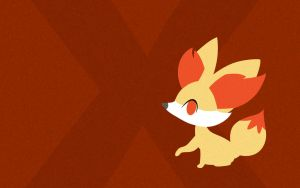 Fennekin Wallpaper by iNightCrawler