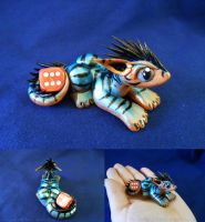 Teal Tiger by ZeitgeistDragon