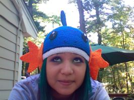 Mudkip Hat by EricaVee