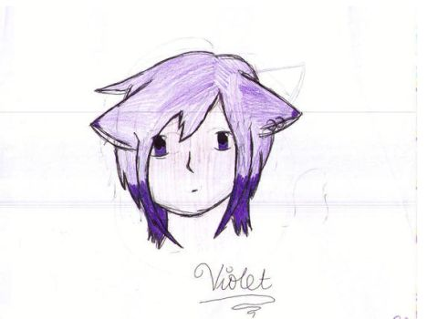 Violet by kittykittycoco