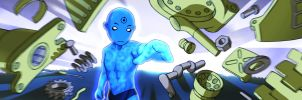 Dr. Manhattan by temperolife