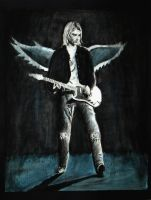 Kurt Cobain poster by OperationClash
