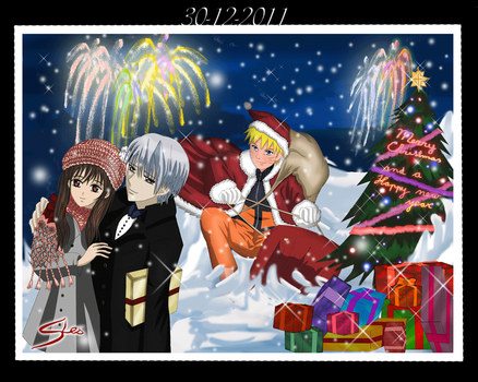 Naruto Vampire Knight Christmas by SteefLess