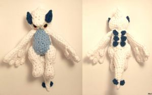 Crochet Cuties: Lugia Gijinka by Yarn-and-Ink