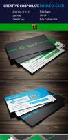 Business Card Template by Arahimdesign