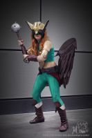 Hawkgirl Cosplay - 1 by Millster-Ink