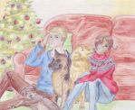 GerIta Christmas by emsiecat