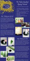 Fabric Gradient Dye Tutorial by FireLilyCosplay
