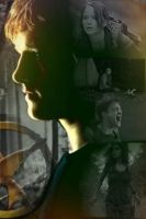 Hunger Games Poster Peeta by BooksandCoffee007